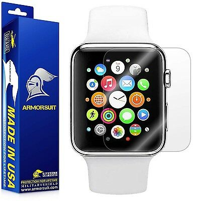 Apple Watch 38mm Screen Protector (Series 2) [Full Coverage] [2 Pack] ArmorSu...