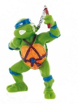 Les Tortues Ninja Figurine De Collection Leonardo 7 Cm Bandana Bleu