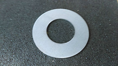 110mm  x  3mm thick x 56mm hole Round washer pressed Disc Circle Mild Steel