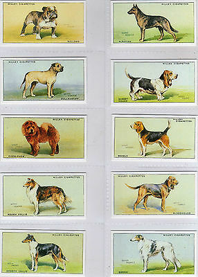 Wills - Dogs - Repro - Full Set in Sleeves (S)