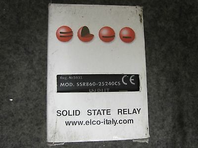 New Solid State Relay SSR860-25240CS 240V AC 25A 90-240V AC-DC