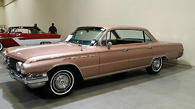 1962 Buick Electra  1962 BUICK ELECTRA 225 4 DOOR HT 401 NAIL HEAD V-8 FACTORY AIR, PW,PS,