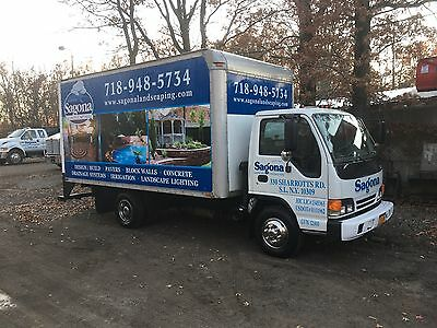 Isuzu 14' Diesel Box Truck With Ramp! Automatic With Very Low Miles!!
