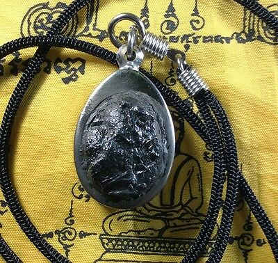 Real Leklai Thai Buddha Amulet Magic Necklace Pendant Stone Talisman Holy Power