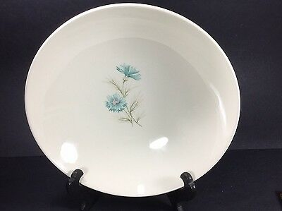 Taylor Smith Taylor Ever Yours Boutonniere Vegetable Serving Bowl Blue Flower 9""