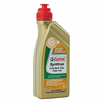 Castrol Syntrax LSD/Limited Slip SAE Gear Oil 75W140 Synthetic - 1 Litre