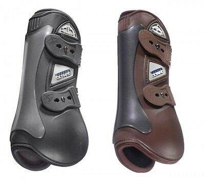 Veredus OLYMPIC Olympus Professional TENDON Showjumping Boots Black/Brown S/M/L
