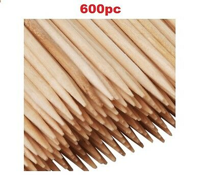 600 Wooden Cocktail Sticks Party Fruit Cherry Cheese Toothpicks Tooth