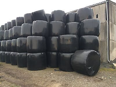 Haylage / Hay And Silage Bales.