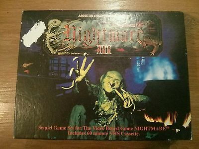 Nightmare 3 VHS Board Game Expansion