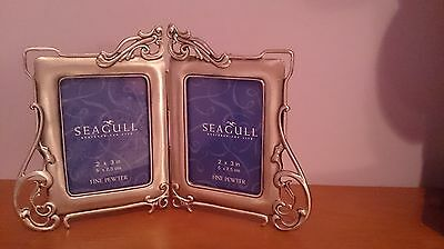 Seagull Pewter – Double Hinged Picture Frame – 2X3