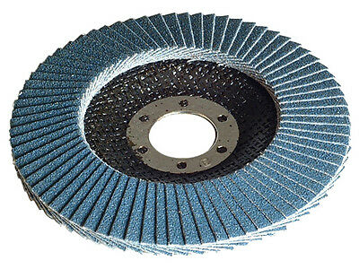 "Premium abrasive Flap Disc, 4.5"" x 7/8"" For Stock & Weld Removal 10pcs"