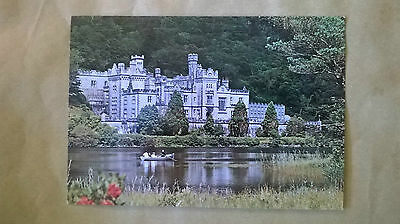 A postcard of Kylemore Abbey,Co.Galway,Ireland.
