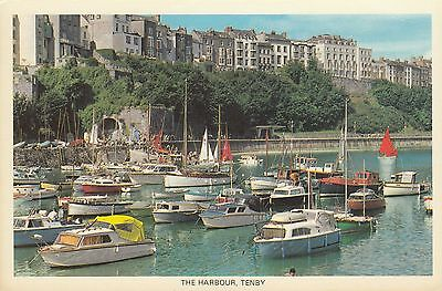 Postcard - Tenby - The Harbour