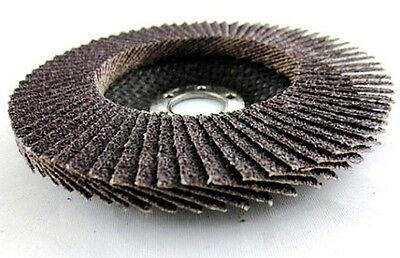 "Premium abrasive Flap Disc Ceramic Grain 5"" x 7/8""  Stock & Weld Removal 10pcs"