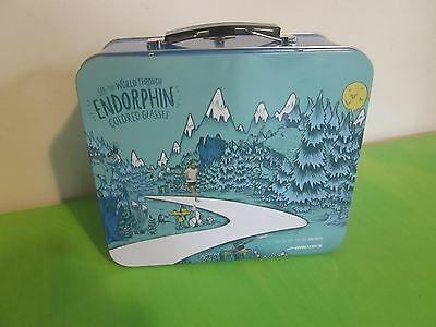 """BROOKS Running Shoes PROMO Lunch Box 4"""" X 7"""" X 8"""""""