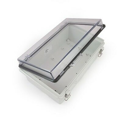 UL cUL Listed Watertight Enclosure Hinged Latching Cover DIN Rail Included #70