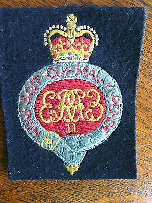 Royal Grenadier Guards Blazer Badge Hand Embroidered Bullion Wired Gold Silver