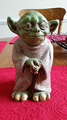 STAR WARS *REDUCED PRICE* YODA The Jedi RARE COLLECTIBLE. OOAK. MINT CONDITION..