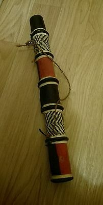 African tribal wooden arrows Quiver