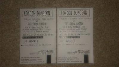 London Dungeon Tickets - 2x Adult