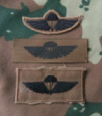 South African 'Air Supply'  Parachute Wings