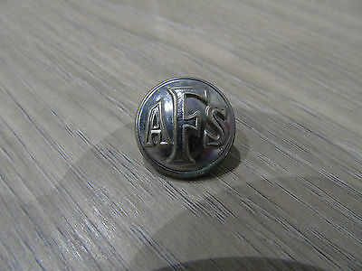 vintage AFS auxiliary fire service button