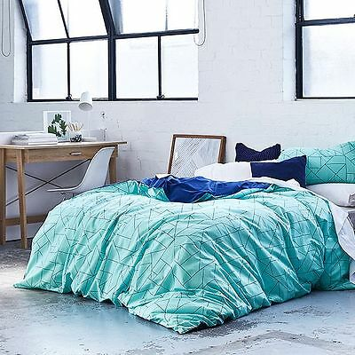 NEW Geometric Quilt Cover Set Quilt Cover Size: