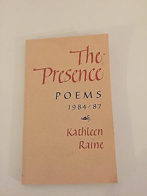The Presence: Poems, 1984-87