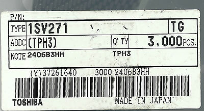25x 1SV271 SMD PIN DIODE TOSHIBA (A-3615)