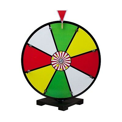 """16"""" Multicolor Dry Erase Prize Wheel 8 Sections for Carnival Game Promo Events"""