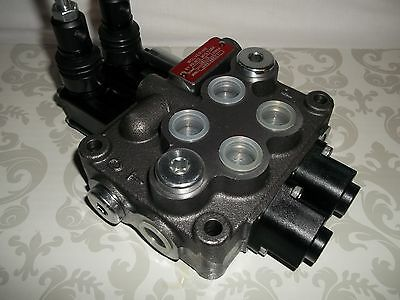 Prince Manufacturing Wolverine  2 Two Spool Hydraulic Valve 8 GPM 4W3P MB21BB5C1