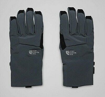 The North Face Guantes Gris Oscuro Y Negro Apex + Etip Hombre Talla L