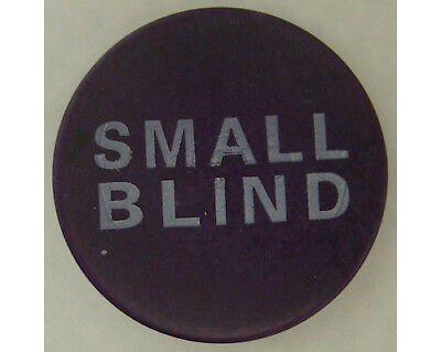 "Small Blind Button 2"" Diameter Ceramic Poker Casino - Lammer"