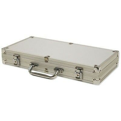 300 Ct Aluminum Chip Storage Case Poker Casino - Chips Not Included