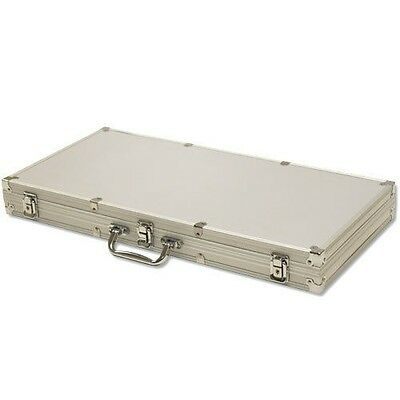 750 Ct Aluminum Chip Storage Case Poker Casino - Chips Not Included