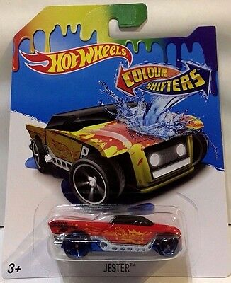 Hot Wheels  Colour Shifters Jester Brand New In Pack