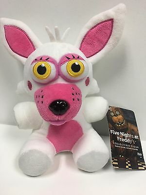 """FNAF Five Nights At Freddys Mangle Funtime Foxy 6"""" Plush Toy New with Tags"""