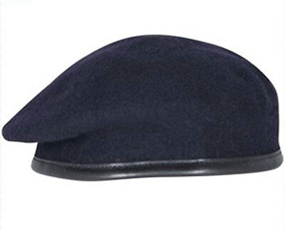 High Quality Navy Blue British Army Beret (RLC, Royal Sigs, REME,MPS)  All Sizes