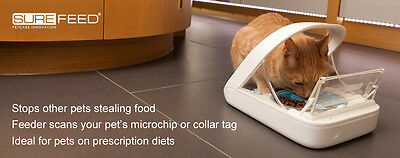 SureFeed Microchip Automatic feeder 450ml Cats and Small Dogs - Stop Food Theft!