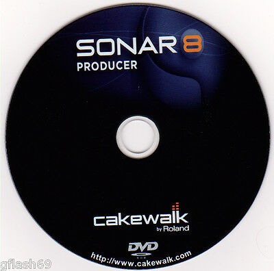 Cakewalk Sonar 8 Producer - Music Production Software on DVD-BETTER THAN CUBASE