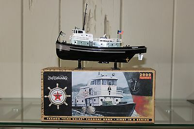 """MIB TEXACO  """"FIRE CHIEF"""" TUGBOAT BANK FIRST IN A SERIES DIECAST in 2000"""