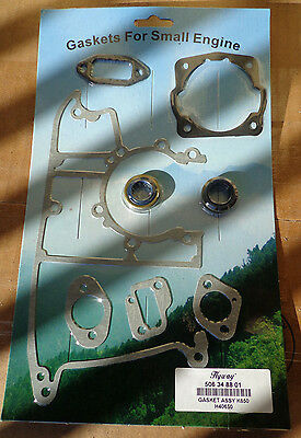 partner K650, K700 complete gasket set with oil seals