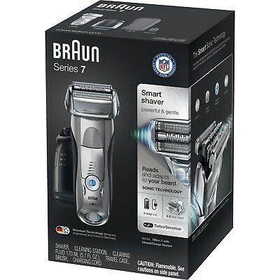 Braun Series 7 790cc-4 Cord/Cordless Rechargeable  Men's Electric Shaver
