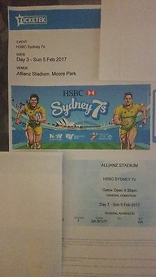 Sydney rugby 7's tickets