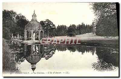 CPA Chantilly Le Chateau L'Ile D'Amour