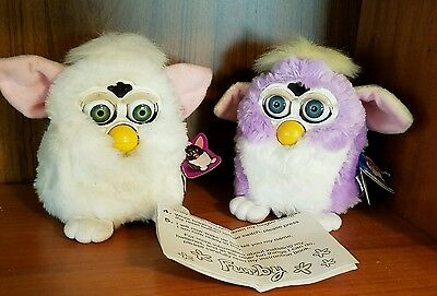 Furies Mixed Lot Of Two 1998 Vintage Electronic Special Edition  Furbies