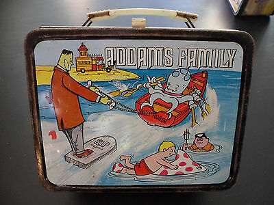 Vintage: Adams Family Lunch Box, 1974, Hanna Barbera, Bright and Nice
