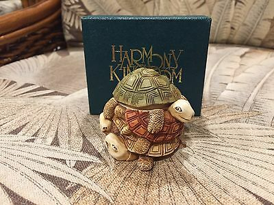 Harmony Kingdom Retired Treasure Jest Shell Game Nib No Paperwork