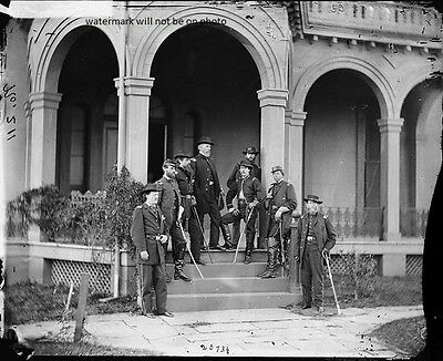 """Union General Edwin V. Sumner and Staff  8""""x 10"""" Civil War Photo Picture #139"""